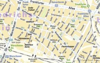 Ausschnitt Friedrichshain