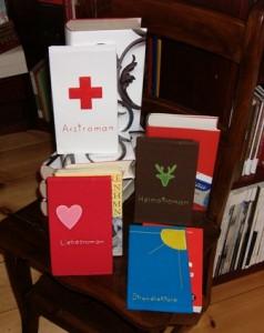 Die Buchhhüllen von Rosenrot