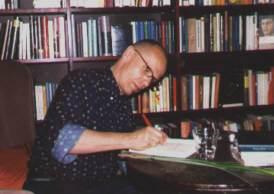 16.05.2000 - Georg Klein liest aus: Die Anrufung des blinden Fisches