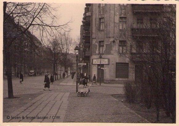 Die Ecke Simplonstraße / Simon-Dach-Straße 1962