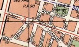 Simon-Dach-Straße / Ecke Wühlisch- und Simplonstraße 1960